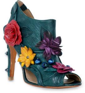 Floral Escape Heel Side